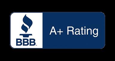 BBB A+ logo