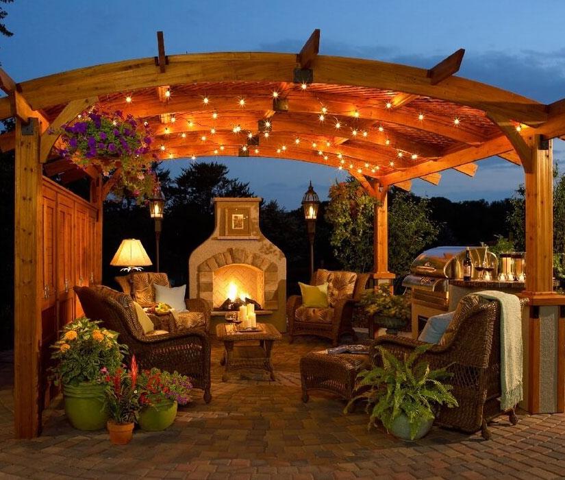 outdoor patio remodel