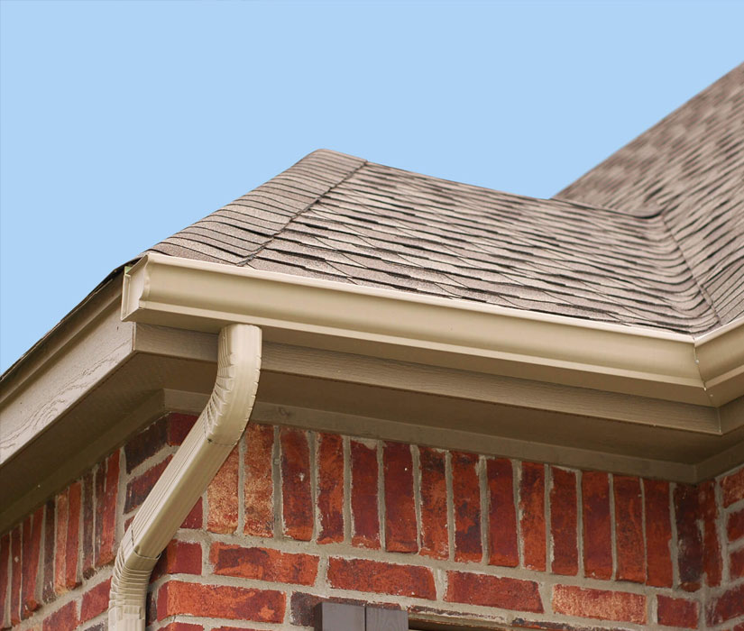 gutters on roof